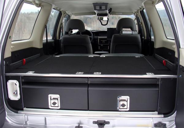 Zabudowa Bagaznika Nissan Patrol Y61