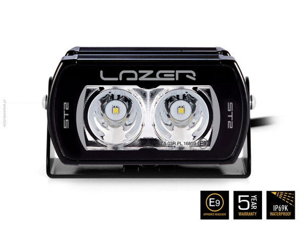 Lampa LED Lazer ST2 - black
