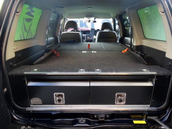 Zabudowa Bagaznika Nissan Patrol Y61 Sypialna